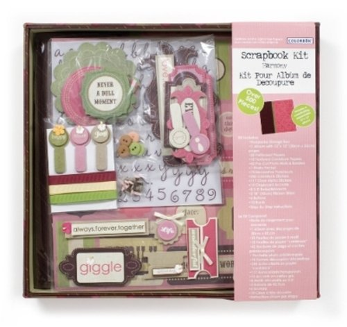 Colorbok Harmony Scrapbook 12 by 12 Album Bo by Kit (Kit Scrapbook Colorbok)