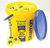New Slazenger Tennis Ball Practice Long Training Match Bucket Holds 60 Balls by Slazenger