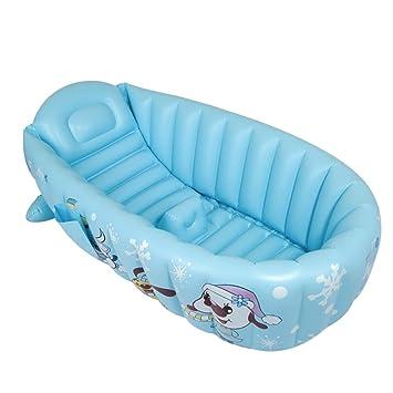 Bañera Inflable para Bebés con Bomba para Niños De 0 A 8 ...