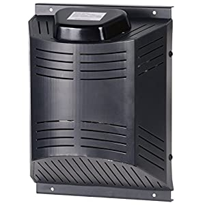 Climatesafe 200W Electric Dog House Heater with Chew Proof Cord & 3 Fan Settings for Pet Houses 50