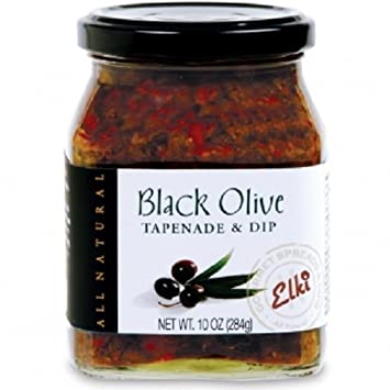 Gourmet Black Olive Tapenade Spread Perfect For Grilled Meat Pizza Ers Salad