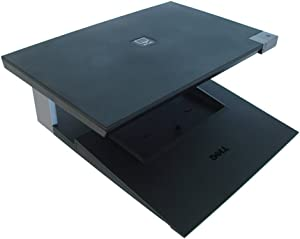 Genuine DELL E-CRT CRT Monitor Stand and Laptop Notebook Dock with E-Port Port Replicator For Latitude E4200, E4300, E5400, E5500, E6400/6400 ATG, E6500 E-Family Laptops and Precision M2400, M4400 Mob