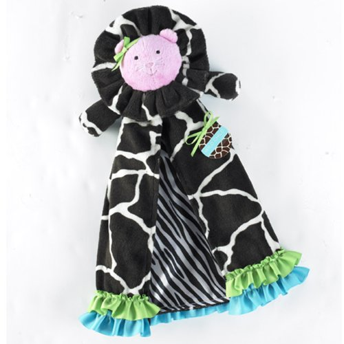Mud Pie Wild Child Minky Mini-Blanket