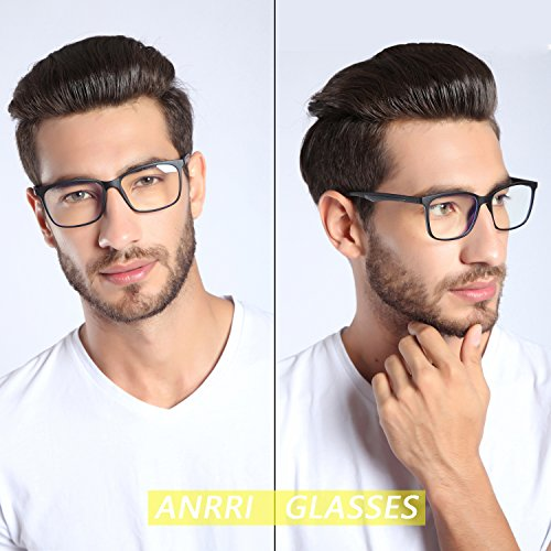 2461720441 ANRRI Blue Light Blocking Computer Glasses for Anti Eyestrain - Import It  All