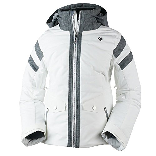 Obermeyer Kids Girl's Dyna Jacket (Big Kids) White X-Large by Obermeyer Kids
