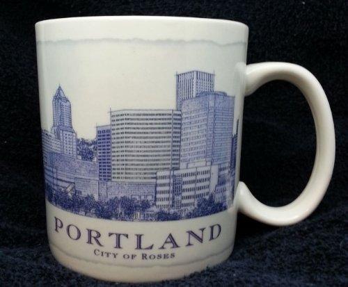 Starbucks Portland Oregon Architecture Series City Mug Cup