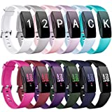 Ouwegaga Bands Compatible with Fitbit Inspire HR and Fitbit Inspire for Women Men and Fitbit Ace 2 Bands for Kids Multi Color Combo