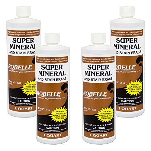 robelle-2555-04-super-mineral-and-stain-erase-for-swimming-pools-1-quart-4-pack