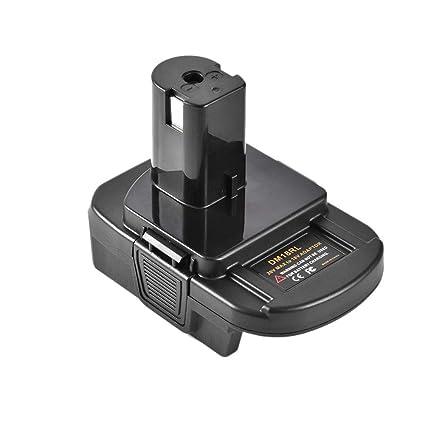 Works with Ryobi 18v One Badaptor Dewalt Battery Adapter to Ryobi 18v One Tool