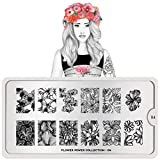 MoYou-London Nail Art Image Stamping Plate Flower Power Collection 04 US Stock