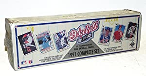 1991 Upper Deck MLB Baseball Cards Complete Factory Set (800 cards)