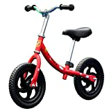 Tmaxch Balance Bike for Kids and Toddlers, 12'' Classic Run Bikes Training Bike Without Pedal for Boys and Girls (Red)