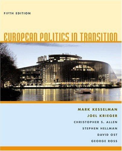 European Politics in Transition by Mark Kesselman (2005-02-24)