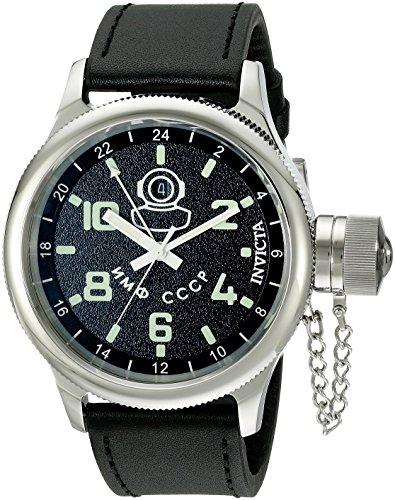 [Invicta Men's 7002 Signature Collection Russian Diver GMT Watch] (Invicta Russian Diver Chronograph)