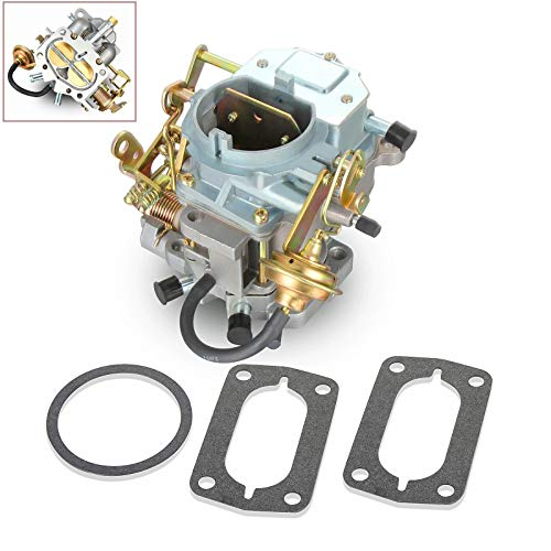 Twilight Garage 2 Barrel Carburetor Carb MB-172-HCY For Dodge Chrysler 318 Engine Carter BBD Lowtop V8 5.2L 1967-1980 (Manual Choke)