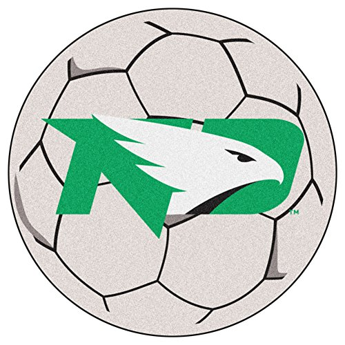 Dakota Soccer Ball Rug - North Dakota Soccer Ball Mat 27 Diameter