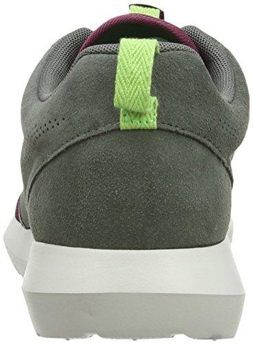 Nike Roshe Run Nm Fb - Zapatillas de running de sintético para hombre - Multicolor (Rvr Rck/Vlln Rd/Lght Stn/Psn G)