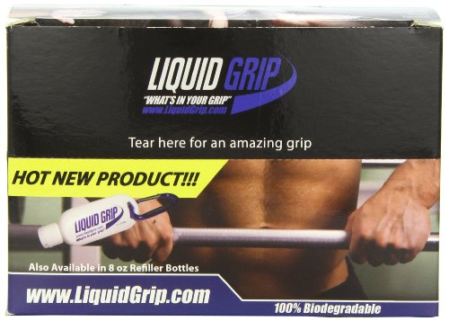 Liquid Grip with Carabiner,12-Count