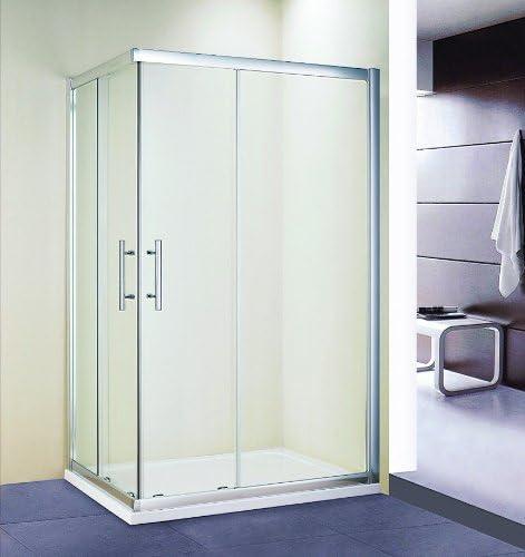 Mampara de ducha cabina de ducha rectangular puertas de madera de ...