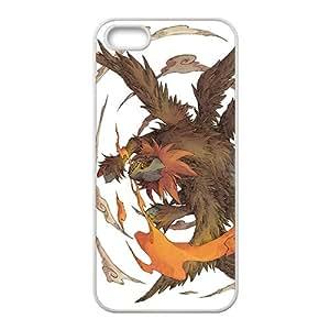 Cartoon Anime Pokemon fashion Phone case for iPhone 5s