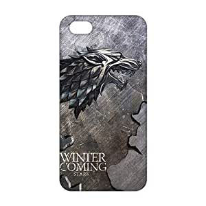 diy zhengCool-benz Winter coming bald eagle map 3D Phone Case for Ipod Touch 5 5th /