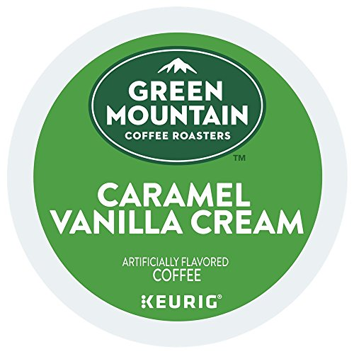 - Green Mountain Coffee Roasters Caramel Vanilla Cream single serve K-Cups for Keurig brewers, 48 Count