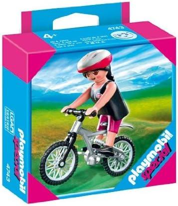 PLAYMOBIL 626635 - Vacaciones Mujer C/ Bicicleta: Amazon.es: Juguetes y juegos