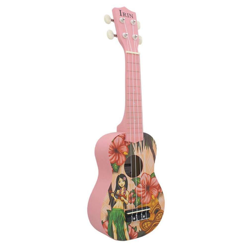 Guitarra Soprano 21 Pulgadas Guitarra Ukulele 4 Cuerdas De Nylon Pequeña Guitarra Instrumento De Música Acústica Profesional Hawaii