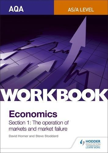 Aqa As/A-Level Economics Workbook Section 1: The Operation of Markets and Market Failure