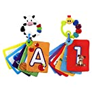 Baby Einstein Animal Discovery Traditional Flashcards, Cow & Caterpillar