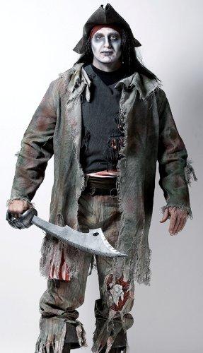 Paper Magic Men's Barnacle Bill Costume, Grey, Plus XX-Large ()