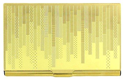 Hatch Etched Business Card Case By Karl Zahn ()
