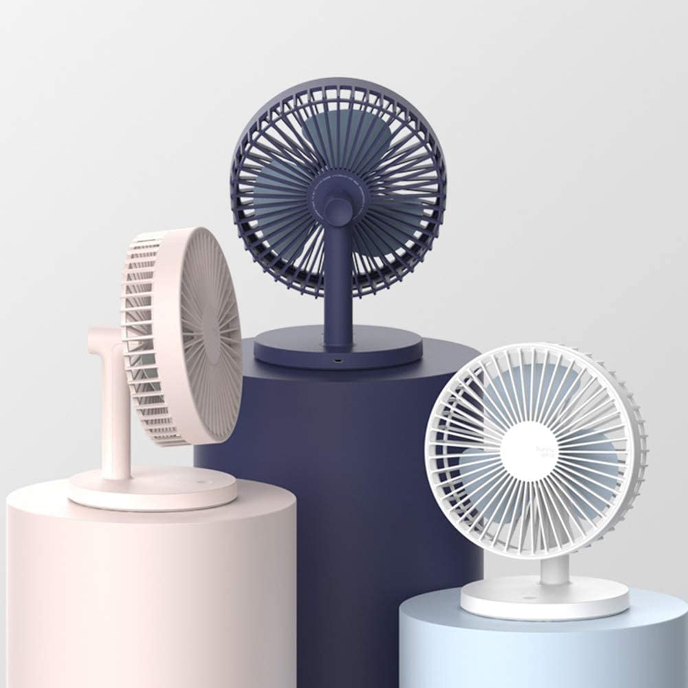 Holiday Gifts. Home Life Office Mini USB Fan Maserfaliw 5V Mini Portable Quiet USB Desk Fan Home Office Dorm Summer Electric Air Cooler Blue