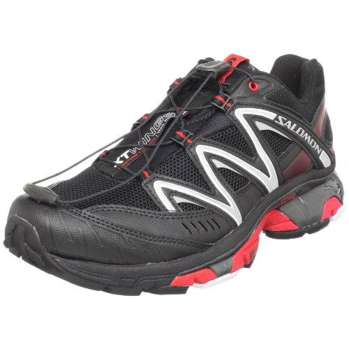 sale retailer c00d8 ad691 Salomon Men s XT Wings 2 Trail Running Shoe,Black Black Bright Red,8.5 M US  (B0033PSI3K)   Amazon price tracker   tracking, Amazon price history  charts, ...