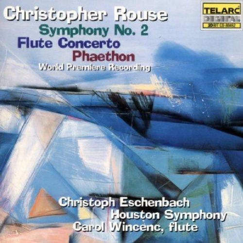 Rouse: Symphony No. 2; Flute Concerto; - Store Rouse