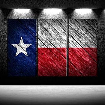 Texas  Flag  Print Gorgous Frame
