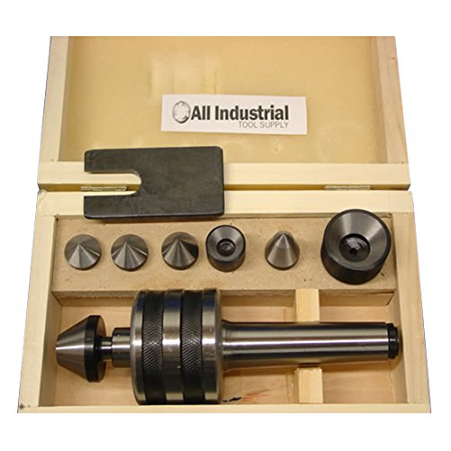 MT3 Live Center Set Morse Taper 3MT Triple Bearing Lathe Medium Duty CNC by All Industrial