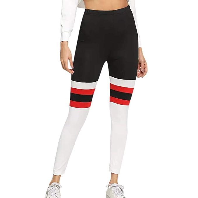Fossen MuRope Pantalones Mujer Yoga Deporte Largo Compresion ...