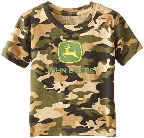 John Deere Baby Boys' Trademark Short Sleeve