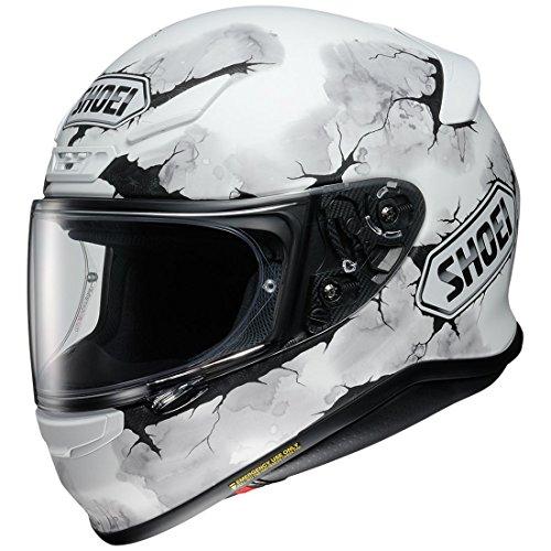 Lightest Full Face Helmet - Shoei unisex-adult full-face-helmet-style RF-1200 Ruts Tc-6 Helmet (Matte White, Medium), 1 Pack