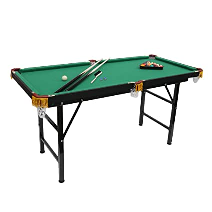 Mini Foldable Pool Table Portable Billiard Table With Cues Balls