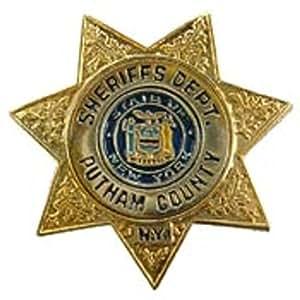 "Putnam County Sheriff Badge Pin 1"""
