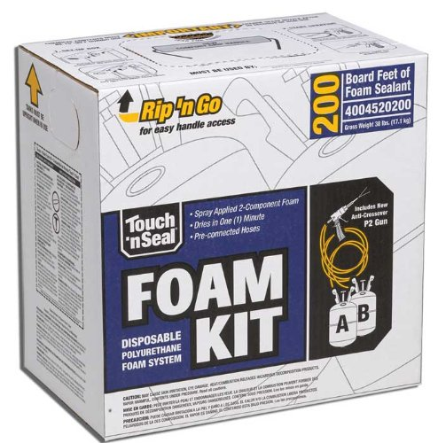 Two-Component Polyurethane Foam Kit 200 Board Feet