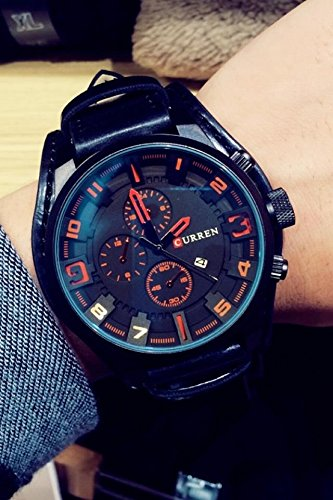 Price comparison product image Generic Genuine_military_wind_Korean_ watch _Tray_tide_male_ Belt watch es_men_ fashion _trends_casual_waterproof_ fashion watch
