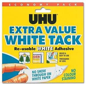 Uhu - Masilla adhesiva, color blanco