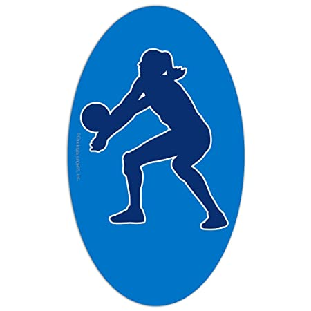 Amazon.com: Bump Voleibol coche imán por chalktalk Deportes ...