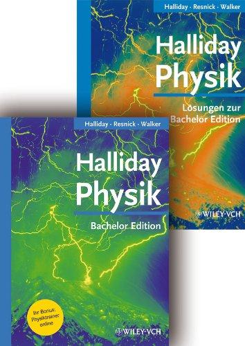 Halliday Bachelor deLuxe: Lehrbuch inkl. Lösungsband