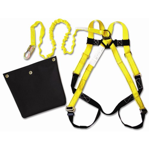 Guardian Fall Protection 17200 ALK IS-72-Aerial Lift Kit-HUV - 01101 with Attached 6-Foot Internal Shock Lanyard - 11200 and Aerial Lift Bag by Guardian Fall Protection (Image #1)