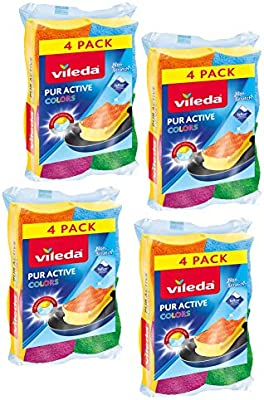 Vileda esponjas colores Paquete de 4: Amazon.es: Alimentación y bebidas
