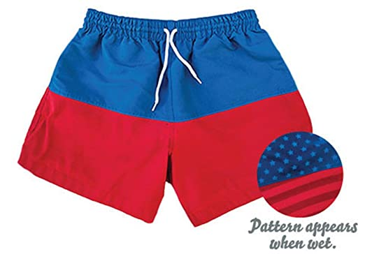 6f75ee01f0 Amazon.com: Chubbies The Liberties Color Changing Men's Red White ...